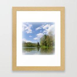 Impression Lake Framed Art Print