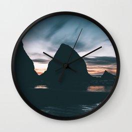 New Year Wall Clock