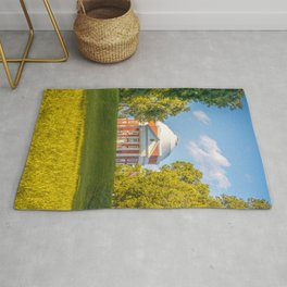 Virginia Charlottesville Lawn Print Rug