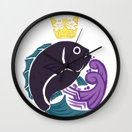 King of the Sea Wall Clock