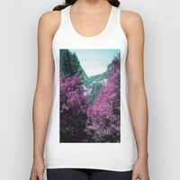 yosemite Tank Tops featuring Yosemite by Richard PJ Lambert