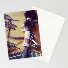 Feathers, Leather and Beads Stationery Cards
