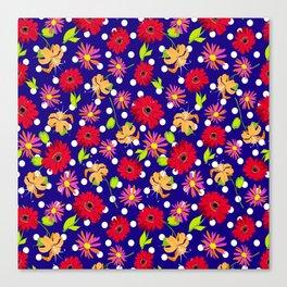 floral kingdom Canvas Print