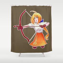 Anime Funny Manga Kawaii Fictional Character Gift Shower Curtain