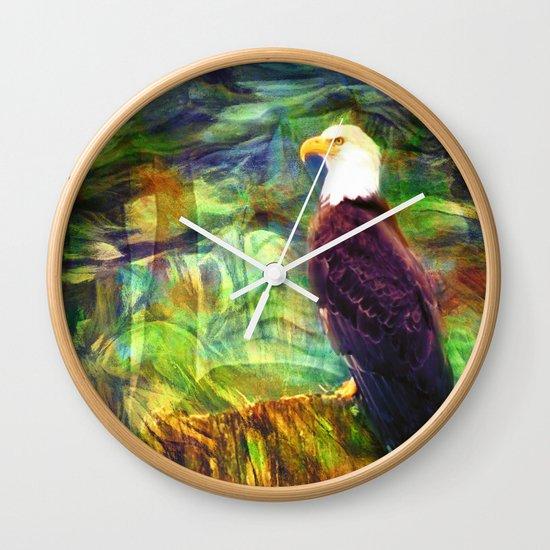 West Coast Eagle Wall Clock