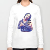 nick cave Long Sleeve T-shirts featuring Nick by Mickt Flior
