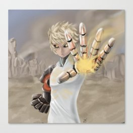 One Punch Man - Genos Canvas Print