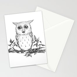 Owly Eyes Stationery Cards