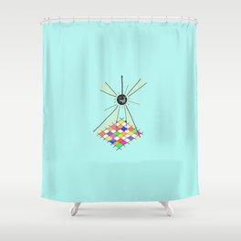 go gina Shower Curtain