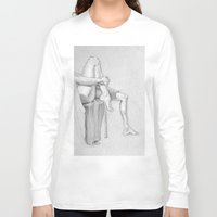 legs Long Sleeve T-shirts featuring Legs by Creo