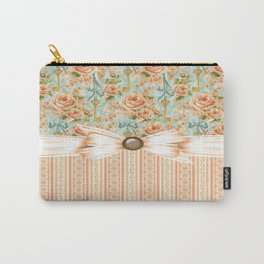 Dazzling County Roses Carry-All Pouch