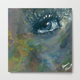 Woodland Daydreams Metal Print