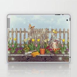 Spring Gardening Laptop & iPad Skin