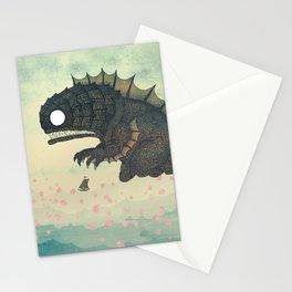 Springtime Sea Monster Stationery Cards
