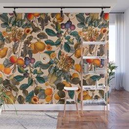 Vintage Fruit Pattern IX Wall Mural