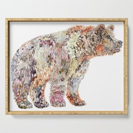 Grizzly Bear Serving Tray