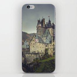 Eltz castle panoramic shot iPhone Skin