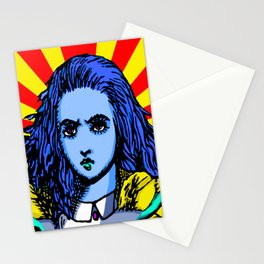 Alice Starburst Stationery Cards