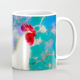 Provencal cock against the background of Van Gogh Coffee Mug