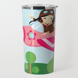 nursery decor , children gift, birthday gift Travel Mug