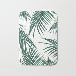 Green Palm Leaves Dream #2 #tropical #decor #art #society6 Bath Mat