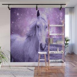 Lavender Horse Celestial Dreams Wall Mural
