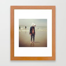 What do you know about time travel? Framed Art Print