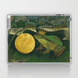 The Frog Prince Laptop & iPad Skin