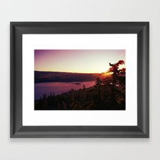 Up and Away Framed Art Print