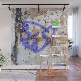 Peace Pigeon - The Copy is a Hommage Wall Mural
