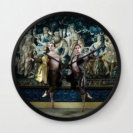 Bubeníček Ballet Brothers Wall Clock