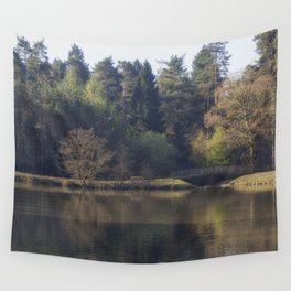 Spring at the Pike Wall Tapestry