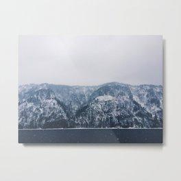 Cold Rock Metal Print