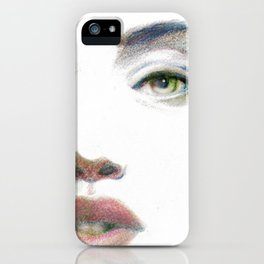 Bedroom Eyes iPhone Case