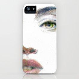 Bedroom Eyes iPhone Case