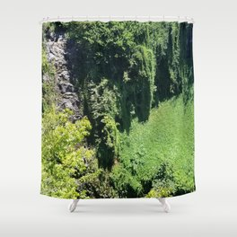 Rainforest From Above Shower Curtain