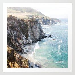 Big Sur California Beach Art Print