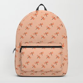 Dragonflies on pink Backpack