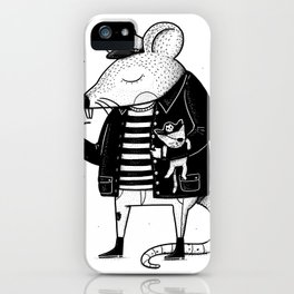 Rat Ship iPhone Case