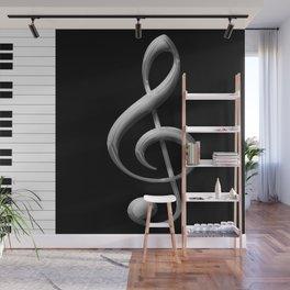 Piano Keys Wall Mural
