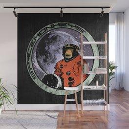 Space Monkeys Wall Mural
