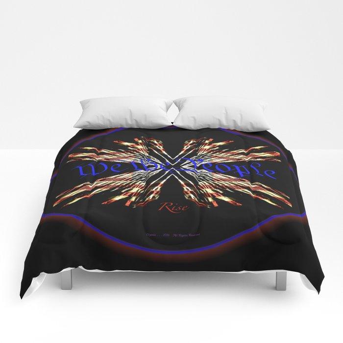 We the People Rise II Comforters