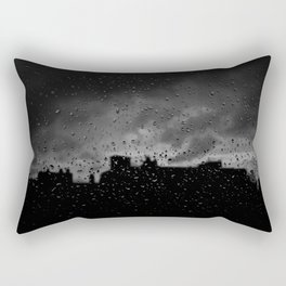 Rainy Day in Brussels Rectangular Pillow