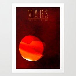 Mars - The Bringer of War Art Print
