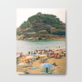 Tossa del Mar Metal Print