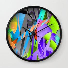 Off Cutts Wall Clock