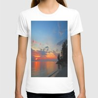 thailand T-shirts featuring A Thailand sunset by I AmErika