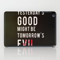 metal gear solid iPad Cases featuring Metal Gear Solid Quote by Stuff Alaska Does