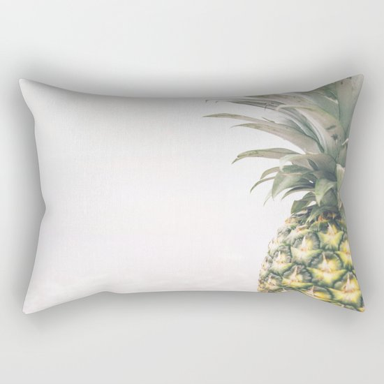 Pineapple Beach Rectangular Pillow