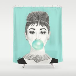 MS GOLIGHTLY Shower Curtain